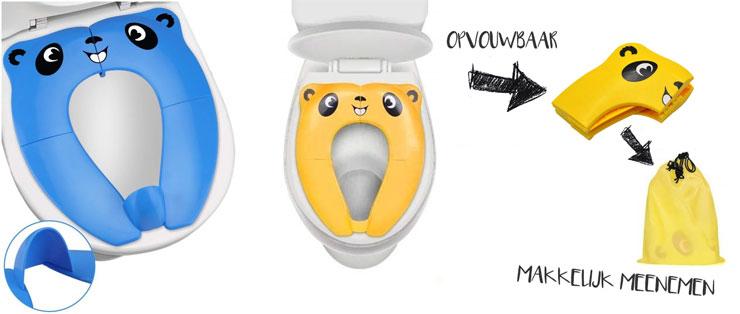 opvouwbare wc verkleiner