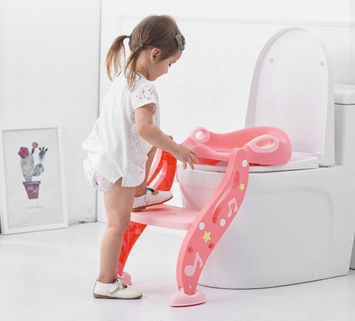 kind zindelijk maken met toilettrainer
