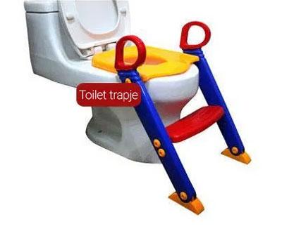 toilettrainer met trapje