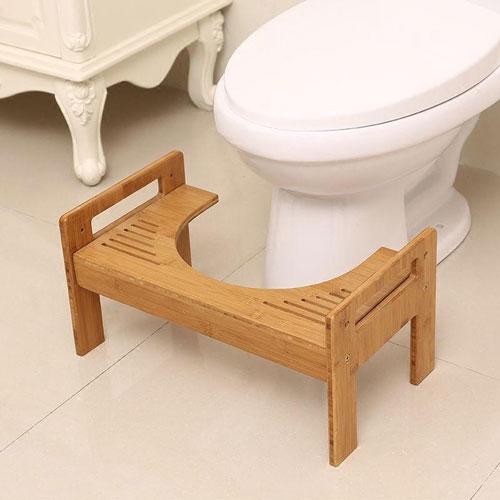 wc krukje hout